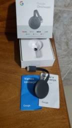 Chromecast na caixa