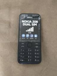 Celular Nokia 208 Dual SIM