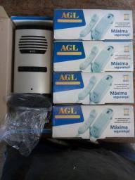 Porteiro eletrônico 4 pontos AGL com os monofones