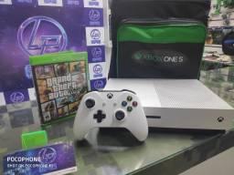 xbox one s 1tb super novo + jogo e garantia Loja