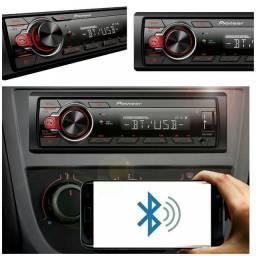 Aparelho Som Automotivo Pioneer Toca Cd Bluetooth