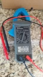 Alicate VOLT Amperimetro ET 3111 Minipa com pontas novas