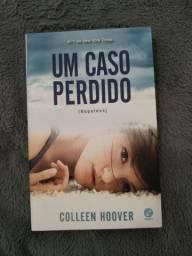 """Livro """"Um Caso Perdido"""" da Colleen Hoover"""
