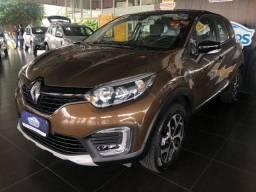 Renault Captur 1.6 Intense, Autom. CVT, 2017/2018, Marrom, Completo, 81.000km