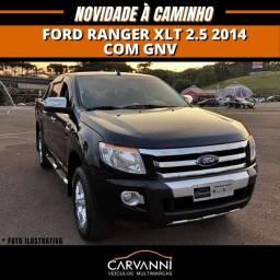 Ford Ranger XLT 2.5 2014 com GNV