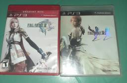 Jogo de ps3 (Final Fantasy XIII e Final Fantasy XIII-2