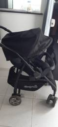 Um carrinho de bebê é mais bebê conforto