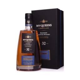 Whisky 32 Anos MacQueens - Melhor que Jonnie Walker Blue Label.