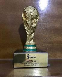 Troféu do jogo 42 da copa do mundo 2014 brasil