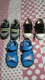 Lote de calçados por 30