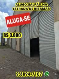 Alugo Galpão na Estrada de Ribamar por 3 mil