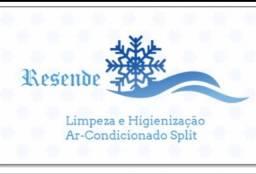 Limpeza e Higienização de Ar Condicionado Split até 12000 Btus