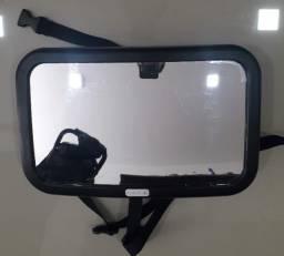Espelho infantil para carro mais segurança ao bebê