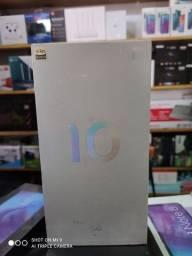 Xiaomi mi 10 8 ram 128gb novos lacrados globais originais com garantia de 1 ano