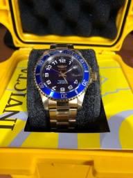 Relógio Invicta 30694, dourado, importado original!