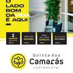 Quinta dos Camarás Apto 02 qts/Suíte/Varanda e Elevador de Carga-Entrada em até 48x