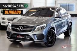 Mercedes GLE 400 GLE400 COUPE 3.0 333HP BLINDADA AXXO 10 ANOS TETO 20 MILK KM 4P