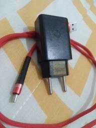 Carregador turbo original Motorola, tipo c