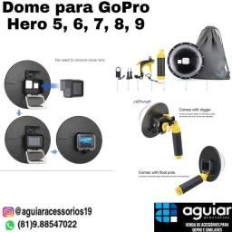 Dome para GoPro Hero 5, 6, 7, 8