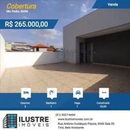 Cobertura a venda com 03 quartos e armários planejados. Pode financiar.
