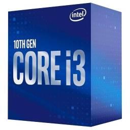Processador Intel Core i3-10100F, Cache 6MB, 4.30 GHz, LGA 1200 - BX *0F