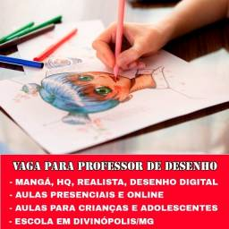 Título do anúncio: Professor de desenho