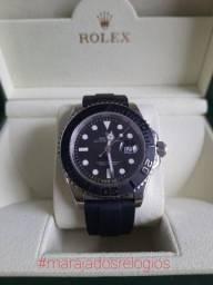 Rolex Yacht Master Pulseira Silicone