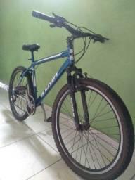 Vendo Bicicleta Esportiva Aro 26 Reduzido Toda no Rolamento Jancês Aero Guidon Oxi