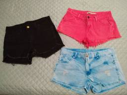 Shorts Jeans - novos