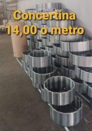 Concertina Simples, 14,00 0 metro