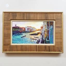 Tela Espatulada Amanhecer em Veneza