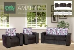 Título do anúncio: Sofá - Estofado Amarílis - Frete Grátis - Sofá