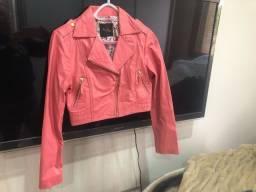 2 jaquetas de couro 100%