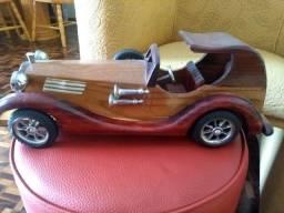 Carrinho madeira decoração