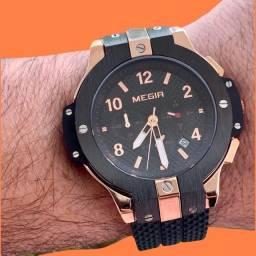 Relógio MEGIR. Todo funcional. Última unidade.