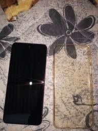 Troco LG k52 64gb por iphone 7 ou 6 com volta minha