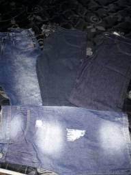 Calcas e bermuda masculinas.