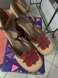 Maravilhoso sapato da linha conforto zambeze número 37