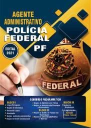 Apostila PF 2021 - Agente Administrativo<br><br>