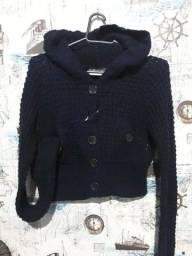 casaco croped lã tam P 20,00