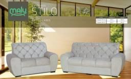 Título do anúncio: Sofá - Sofá 2x3 Lugares Stilo - Frete Grátis - Sofá