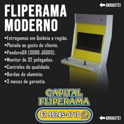 Máquina de Fliperama Moderna