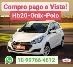 Título do anúncio: Compro *Hb20-Onix-Polo *Pagamento a vista!