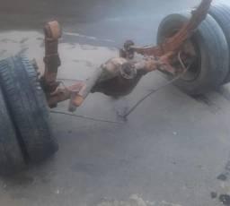Diferencial completo Iveco daily com molas e pneu