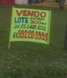 Vendo lote quitado Qd 25 Lago Azul - Novo Gama-GO