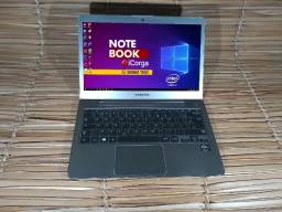 "Notebook Samsung Ultra NP530U 13"" W10 core i7 3ª- 6 Gb de Ram 120Gb de SSD"