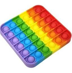 Pop It Fidget Toy Anti Estress Quadrado Novo