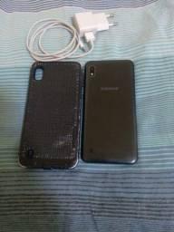 Samsung A10 dual chip 32giga biometria farcial