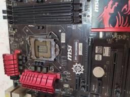 Placa mãe MSI Z97-G43 Gaming DDR3