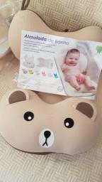 Almofada para Banho de bebe recém nascido Creme -Baby Pil - NOVA pronta entrega R$ 150,00